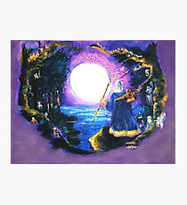 Merlin's Moon Photographic Print