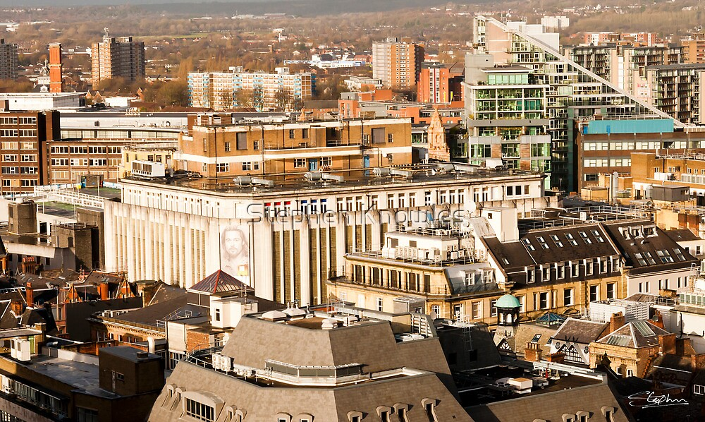 Manchester's Rooftops by Stephen Knowles