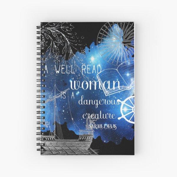 A well read woman Spiral Notebook