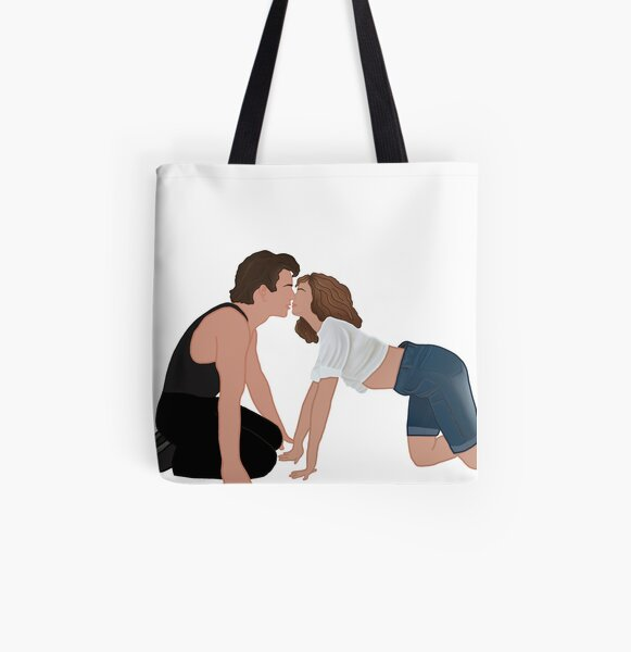 Johnny and Baby All Over Print Tote Bag