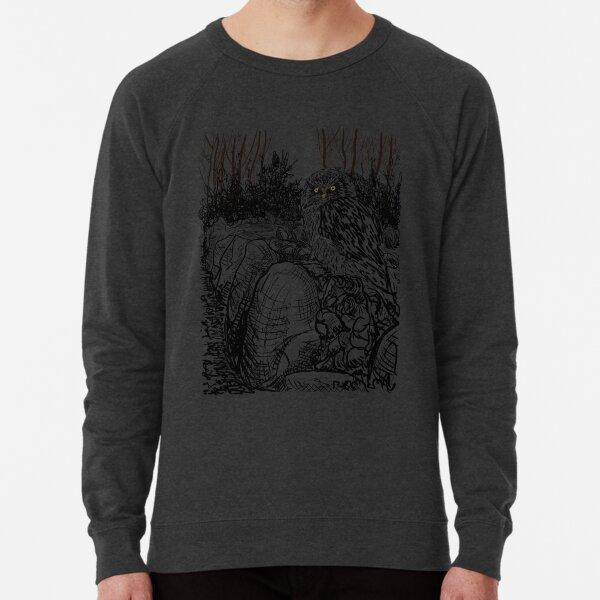 The Owl still sat on the Dolmen (A Tribute to Jan Mankes)  Lightweight Sweatshirt