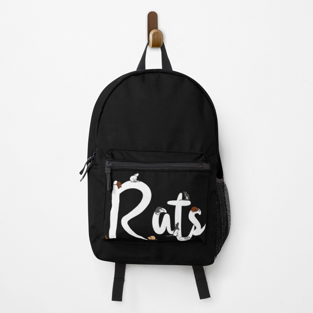 Rats Lettering Backpack