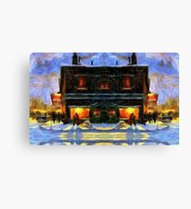 Johnson's Candy and General Store Canvas Print