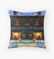 Johnson's Candy and General Store Throw Pillow