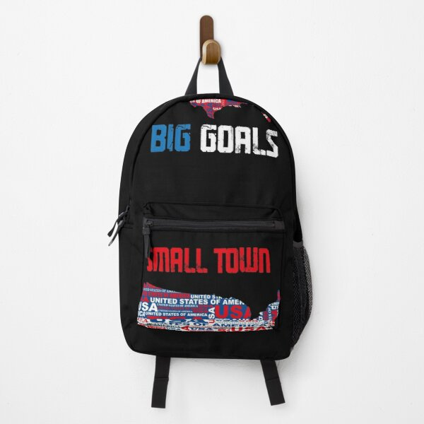 Small town big goals Backpack