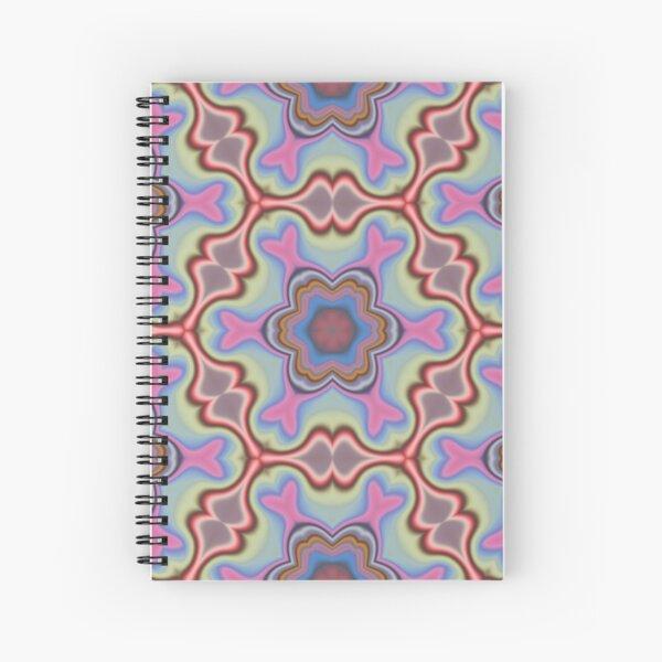 Sky Bloom Spiral Notebook