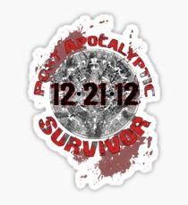 Post Apocalyptic Survivor Sticker