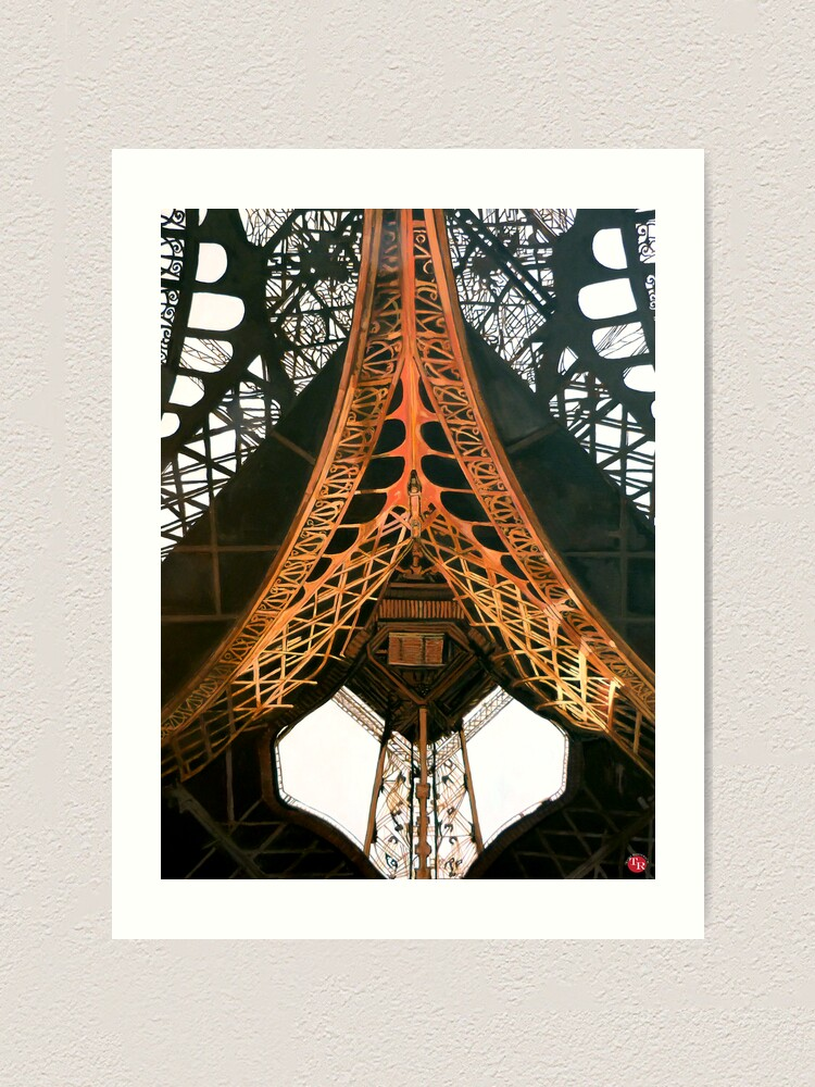 Alternate view of La  Dame de Fer Art Print