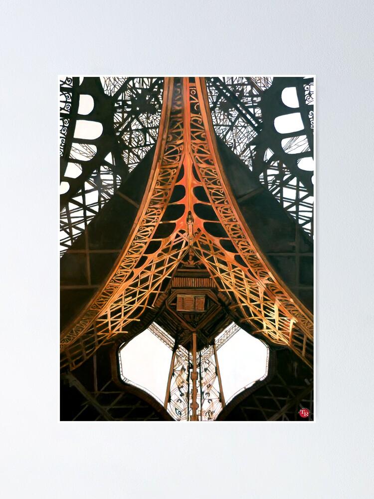 Alternate view of La  Dame de Fer Poster