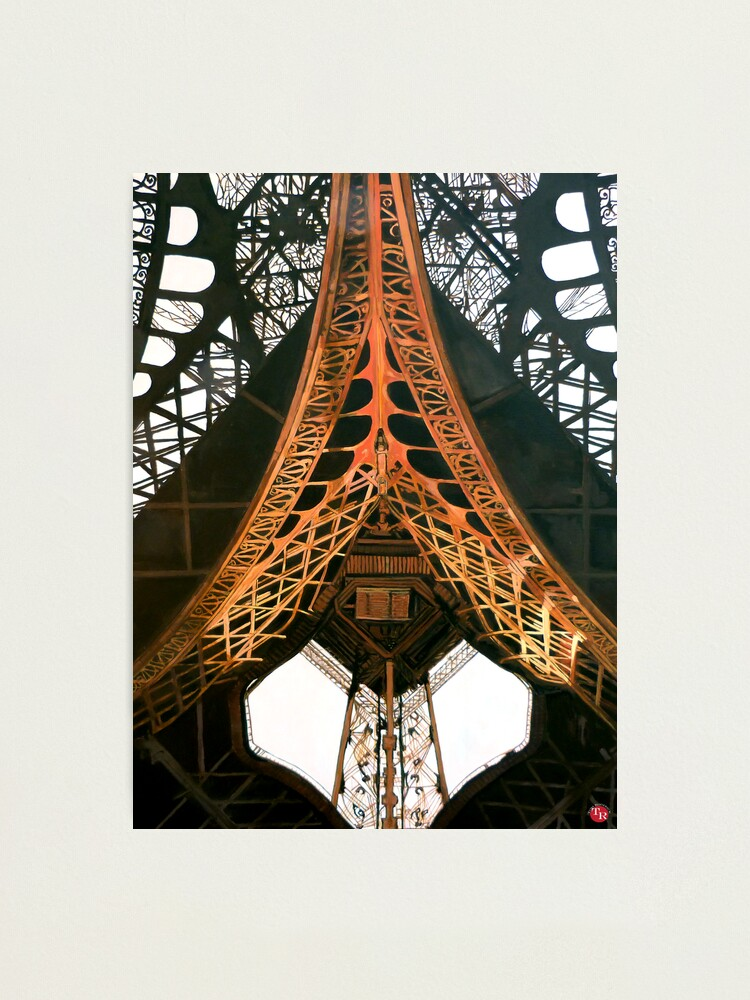 Alternate view of La  Dame de Fer Photographic Print