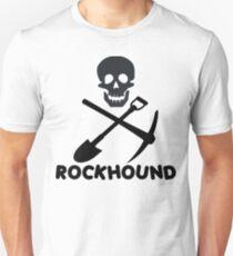 Camiseta ajustada Rockhound Skull Crossed Pick & Pala