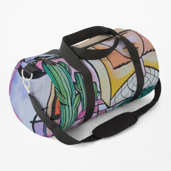Viral-Cactus Duffle Bag