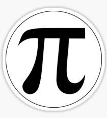Math Geeks Love Pi geekery gear Sticker