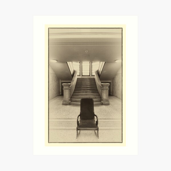 A Chair in the Hall Art Print