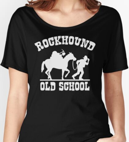 Old School Rockhound Women's Relaxed Fit T-Shirt
