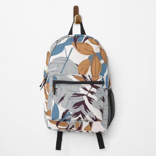Stylish seamless pattern with tropical floral hawaii Backpack