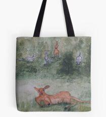 Kangaroos. Tote Bag