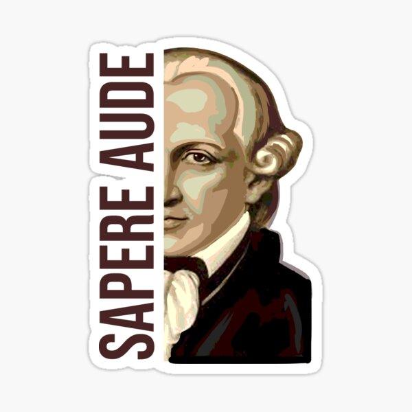 Sapere Aude Kant Pegatina