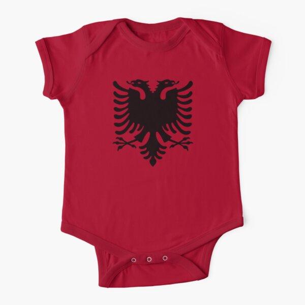 Mazedonien Kinder BABY BODY Größe WM 2018 T-Shirt Trikot Druck NAME NR rot