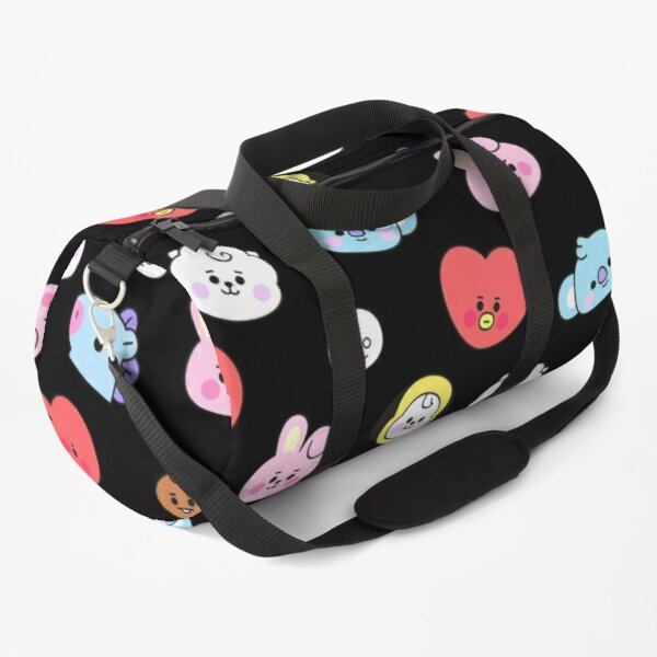 BT21 all gathered pattern In Color (Baby Version) By BTS (Ania Mardrosyan)  Duffle Bag