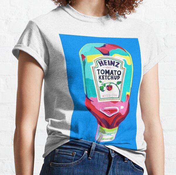 HEINZ TOMATO KETCHUP PAINTING - Pop Art Design  Classic T-Shirt