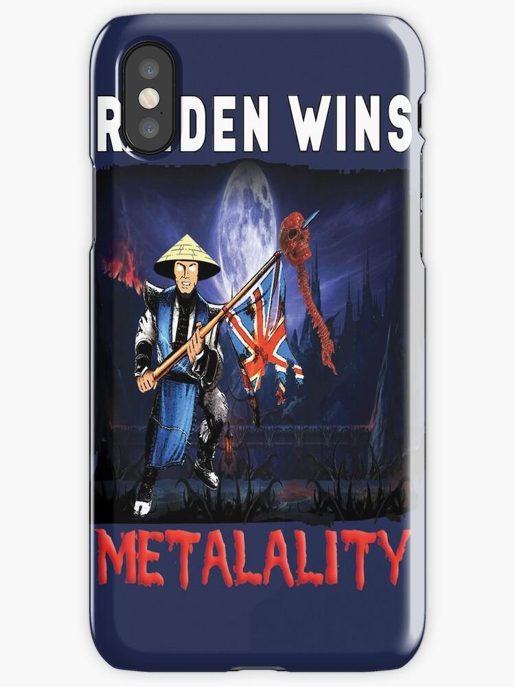 Raiden Wins Metalality (Iron Maiden) by Monty's Island