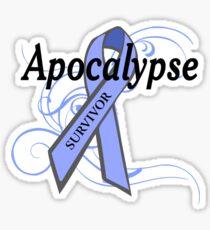 Apocalypse Survivor Sticker