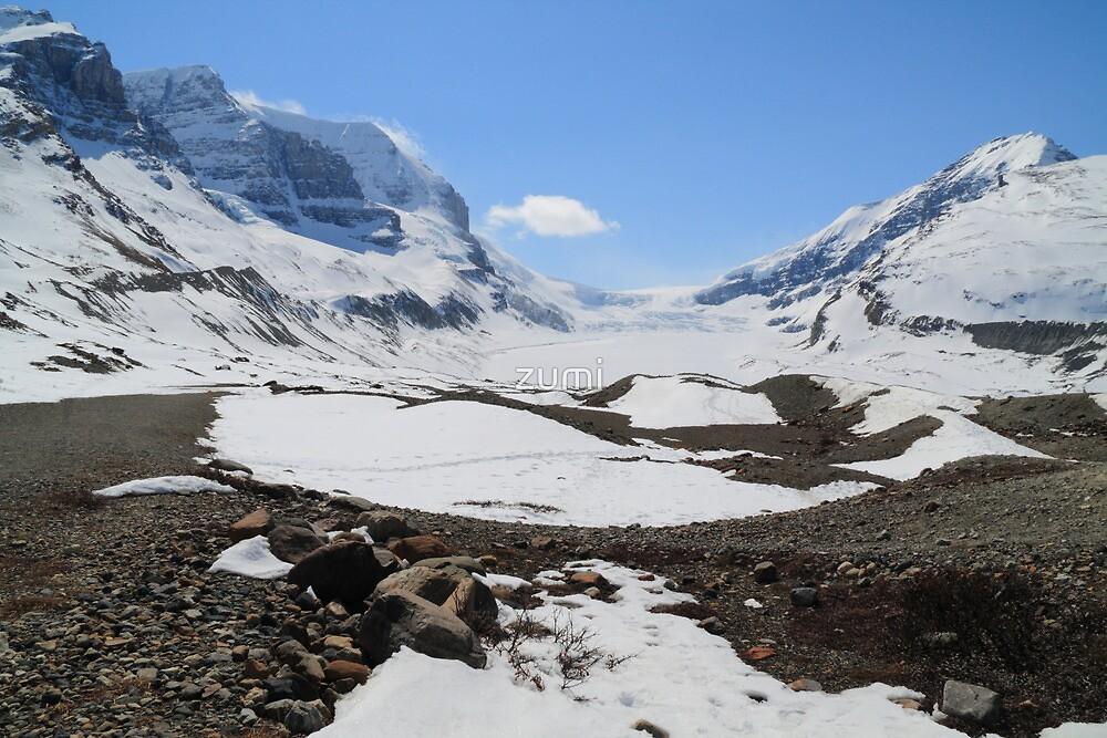 Shrinking glacier by zumi