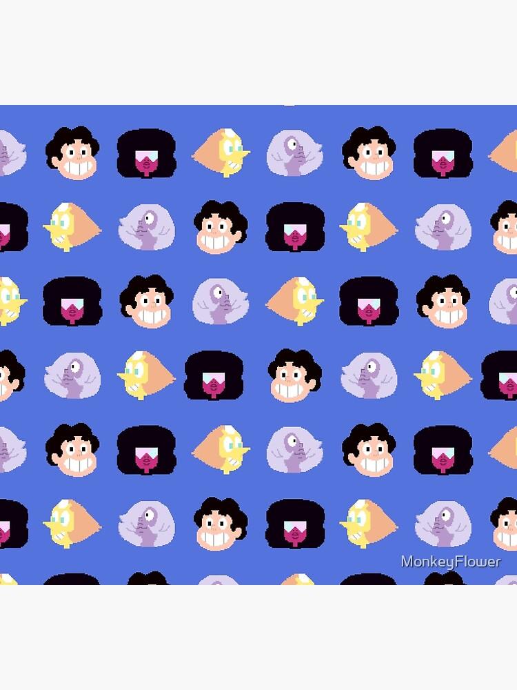 Steven Universe - Pixel Pattern by MonkeyFlower