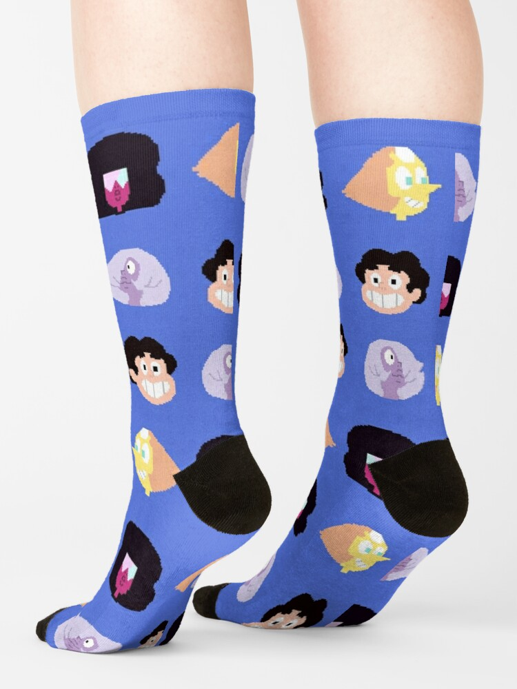 Alternate view of Steven Universe - Pixel Pattern Socks