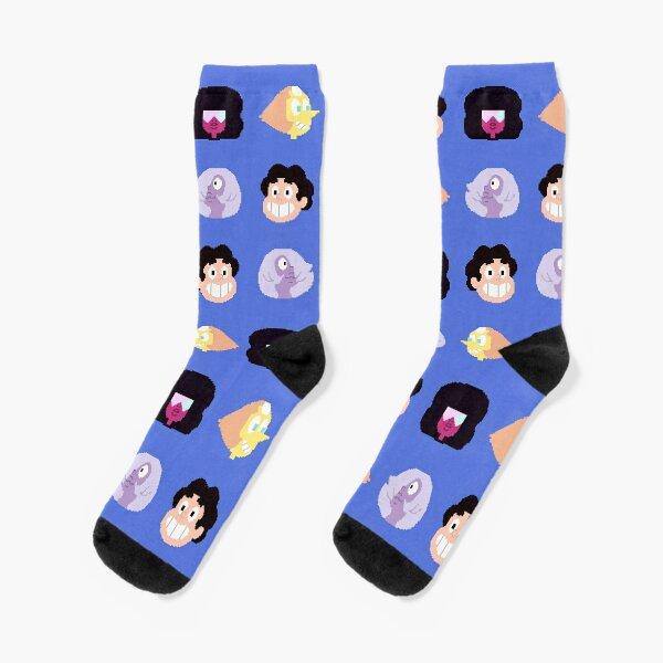 Steven Universe - Pixel Pattern Socks