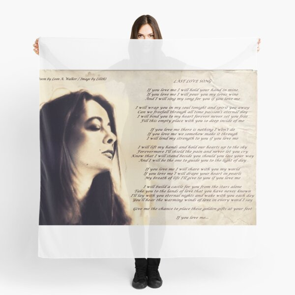 Last Love Song Scarf