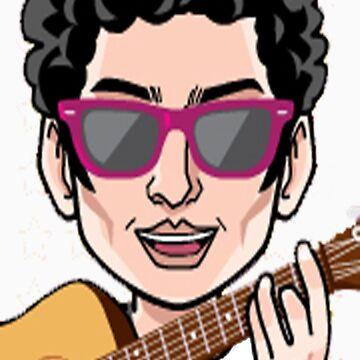 Darren Criss Cartoon by rachick123