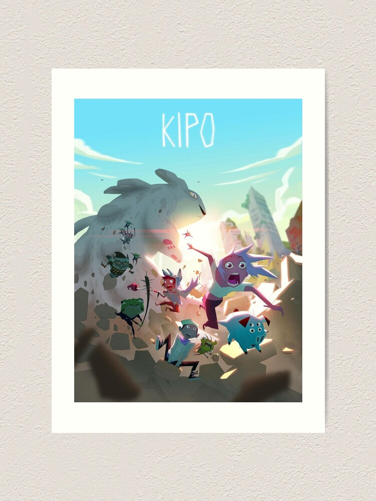 Alternate view of Kipo and the Age of Wonderbeasts Poster Art Print