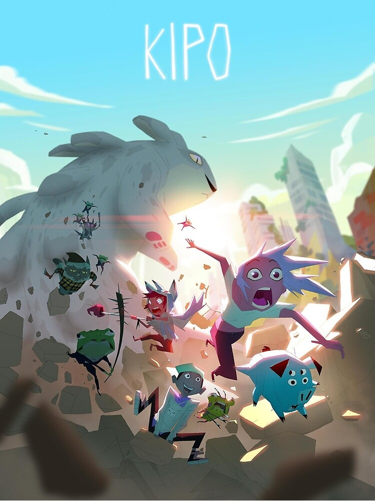 Kipo and the Age of Wonderbeasts Poster by Saucyshaun