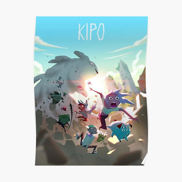 Kipo and the Age of Wonderbeasts Poster Poster
