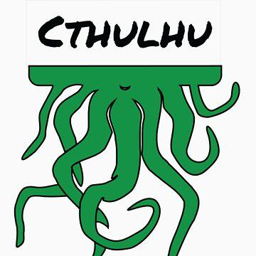 My Name is Cthulhu by shogunpete