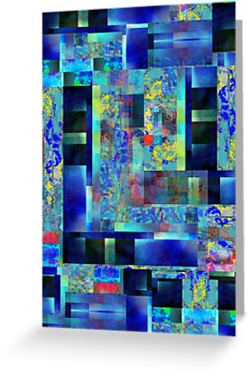 Abstract Composition – Version One by Ivana Redwine