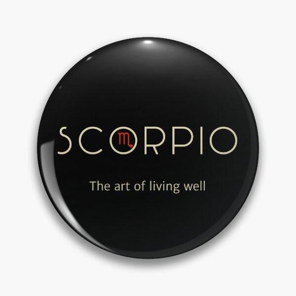 scorpio the art of living well Pin