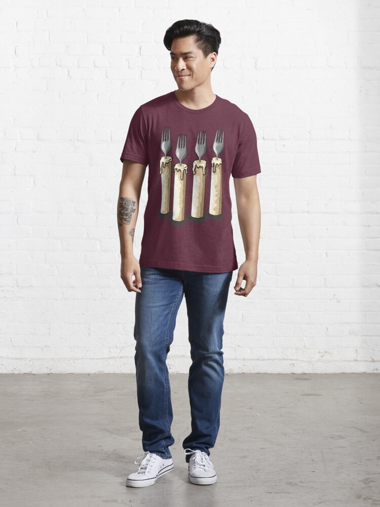Alternate view of Fork Handles / Four Candles | Two Ronnies T-Shirt Essential T-Shirt