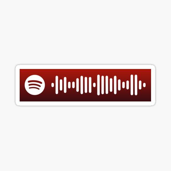 Careless Whisper Spotify Code Sticker