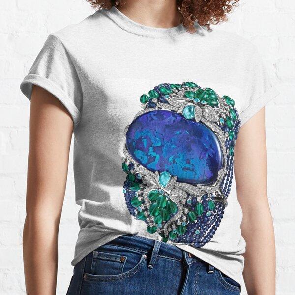 HIGH JEWELRY BRACELET ... Platinum, opal, sapphires, emeralds, Paraiba tourmalines Classic T-Shirt