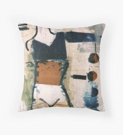 dancer 3 Throw Pillow
