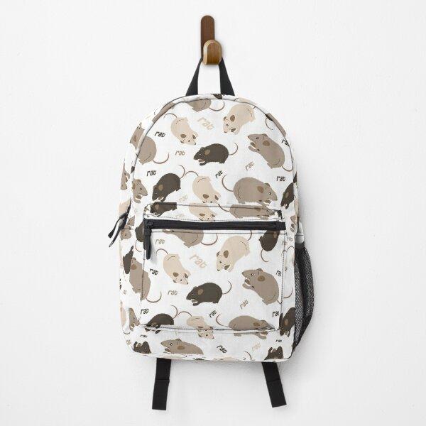 Rat pattern Backpack