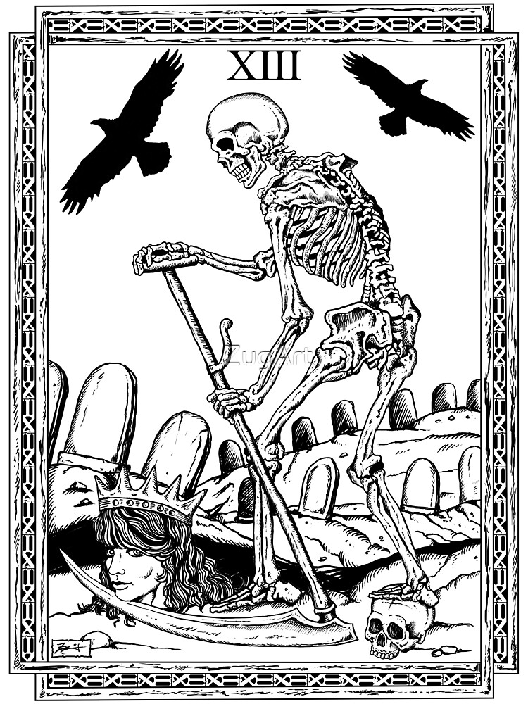 Quot Tarot Death Quot By Zugart Redbubble
