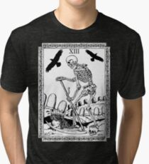 TAROT: Death Tri-blend T-Shirt