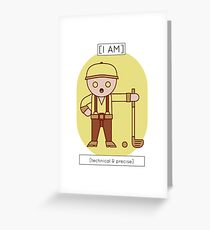 The Technical & Precise Greeting Card