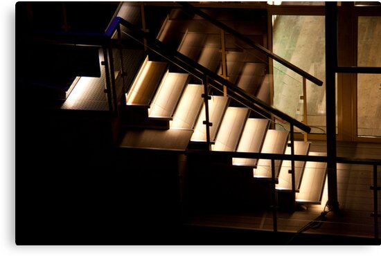 Night Step Reflections by phil decocco