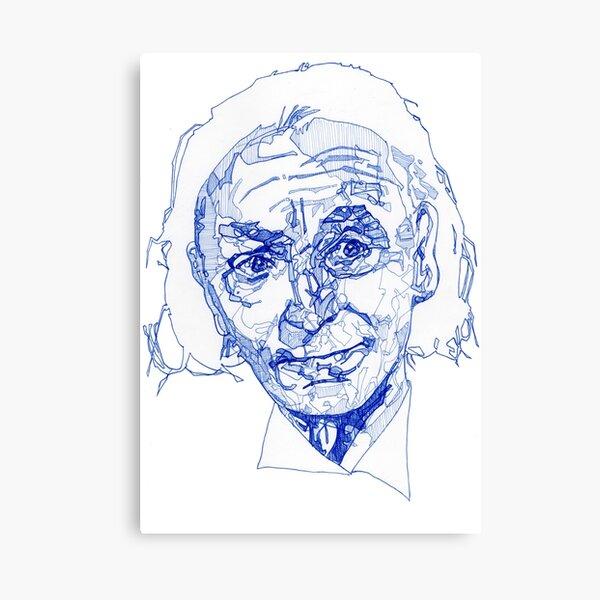 Tardis Blue - First Doctor  Canvas Print