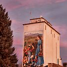 Berthoud Elevator at Sunrise by Timothy S Price